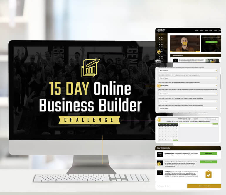 Legendary Marketer 15 Day Business Builder Challenge