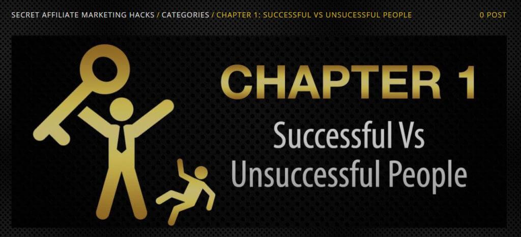 chapter 1 secret affiliate marketing hacks