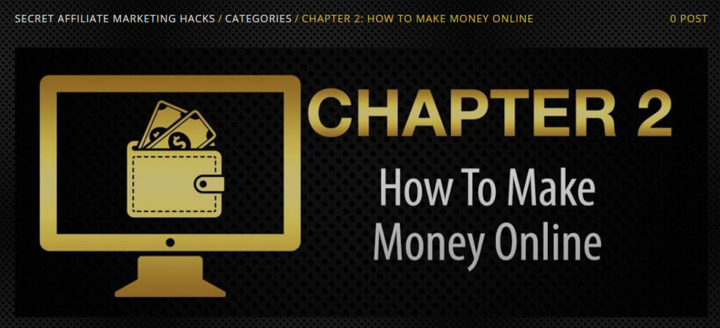 chapter 2 secret affiliate marketing hacks review