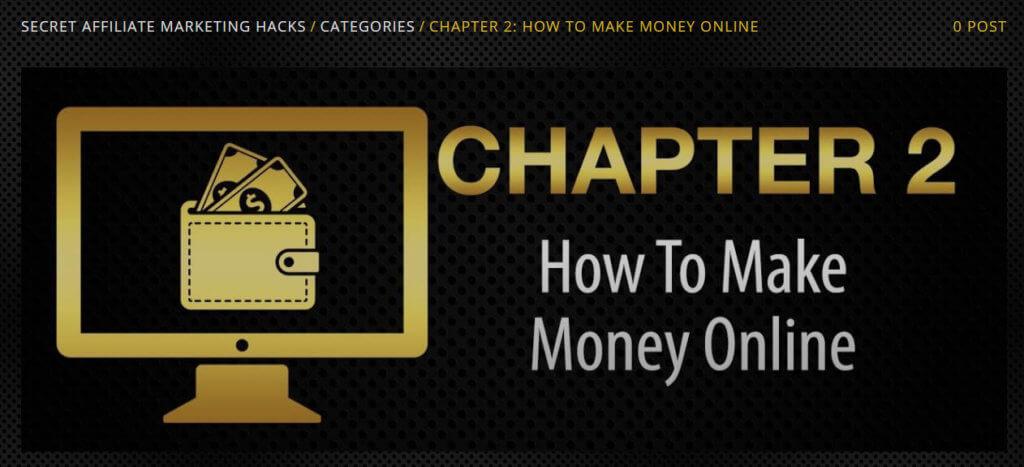 chapter 2 secret affiliate marketing hacks review
