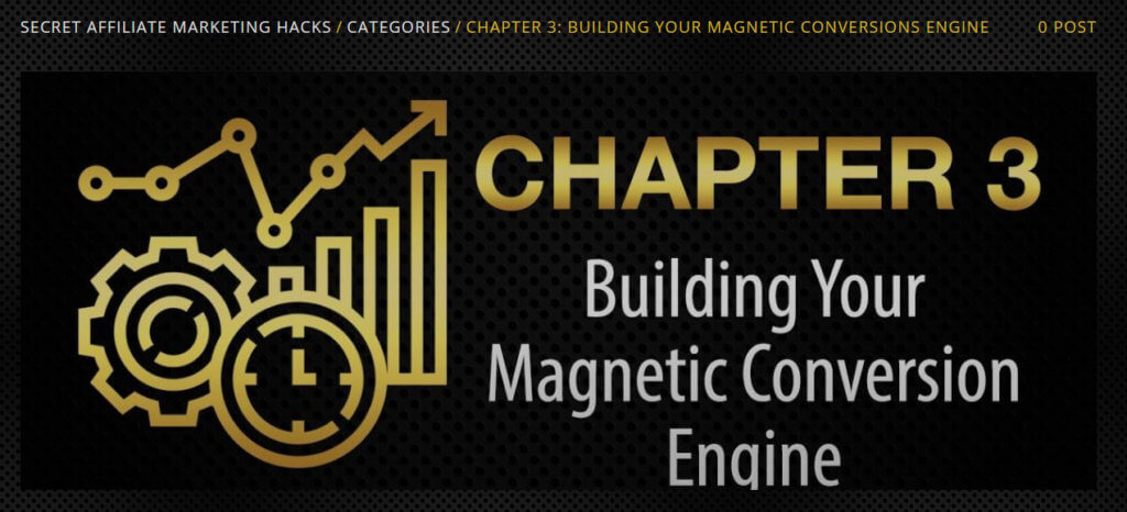 chapter 3 secret affiliate marketing hacks review