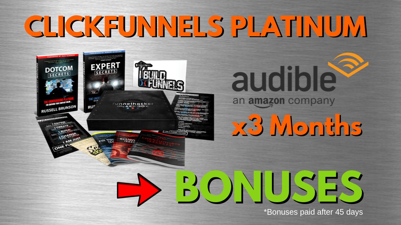 clickfunnels platinum best bonuses