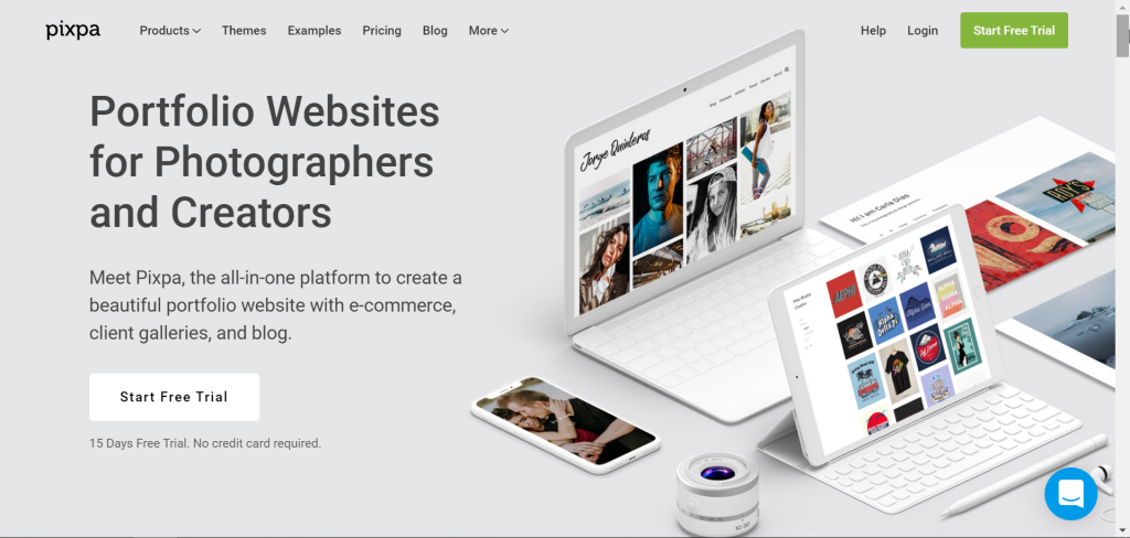 pixpa affiliate product for photographers
