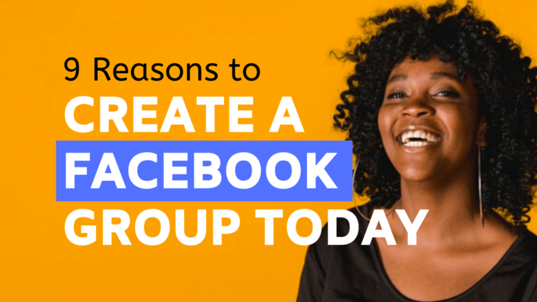 create a facebook group todat featured image