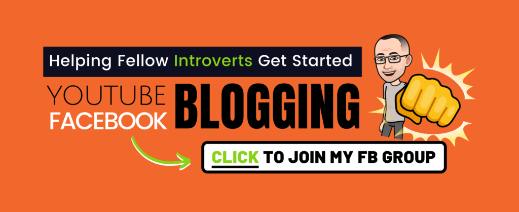 create a facebook group today for introverts banner