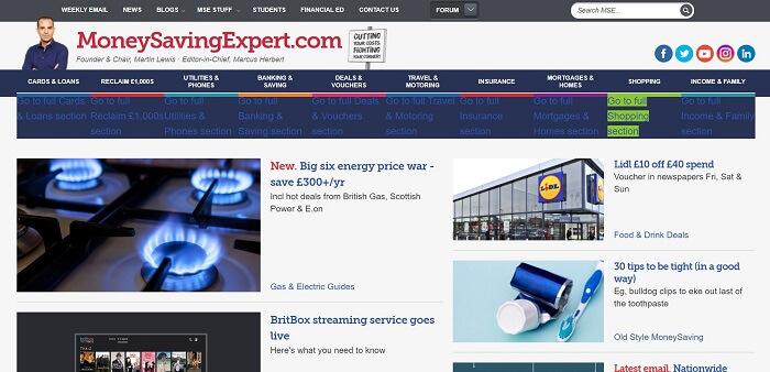 mse money saving expert affiliate