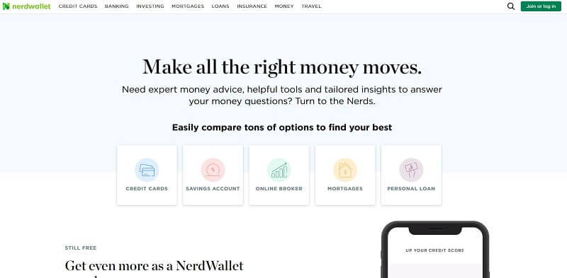 nerdwallet website