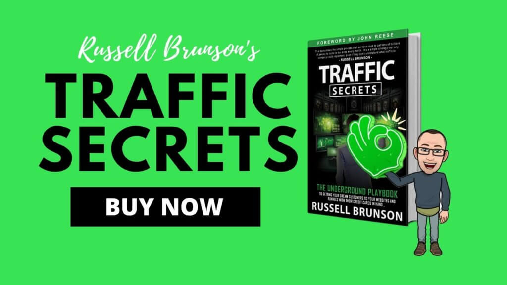buy the traffic secrets book by russell brunson