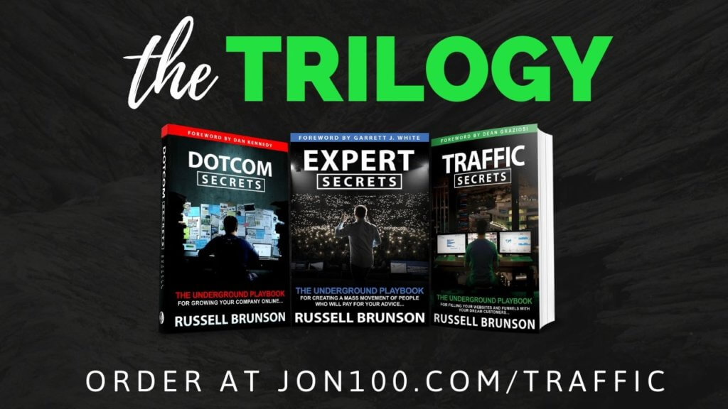 russell brunson book trilogy boxset