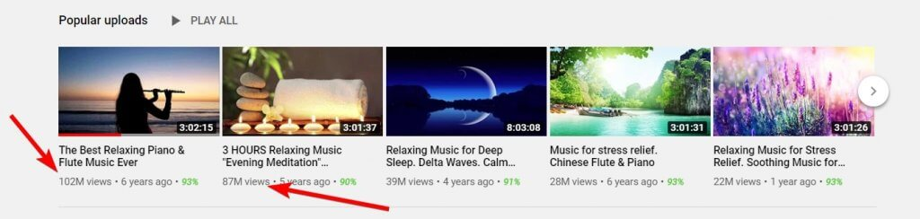 meditation channel on youtube that doesnt show teir face