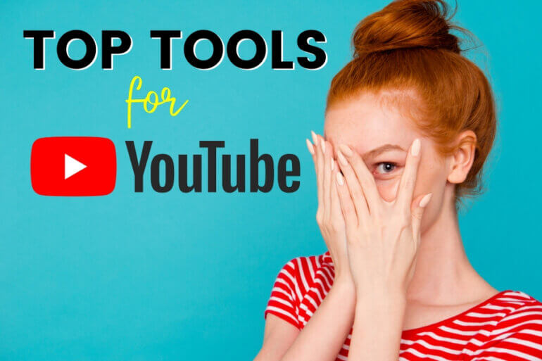 top tools for youtube channel without showing face