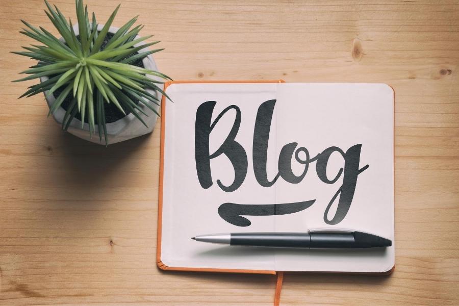 write a blog and make passive income