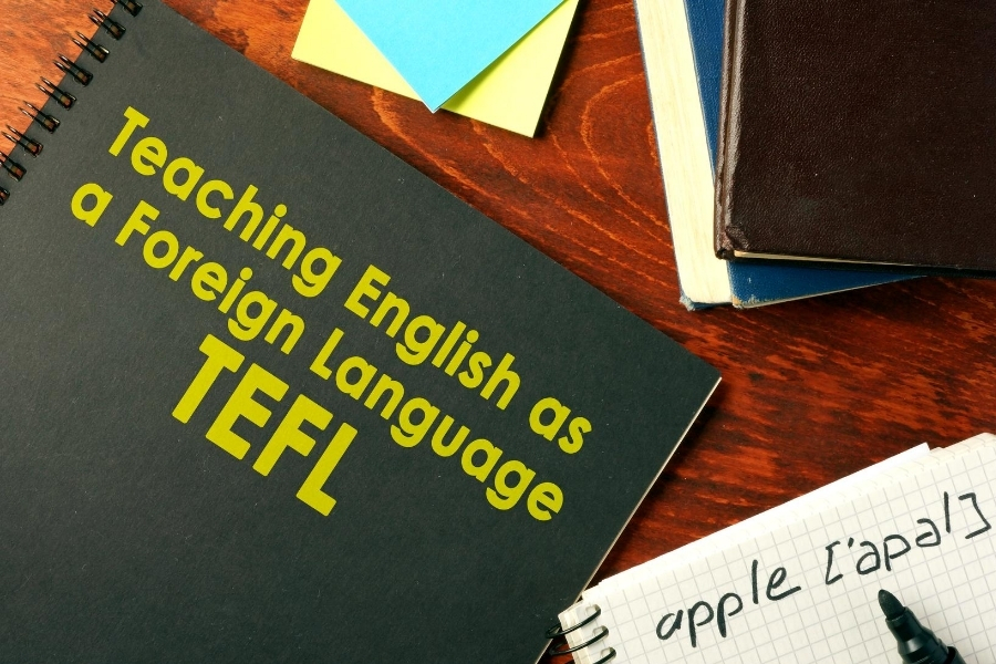 TEFL teach english abooks