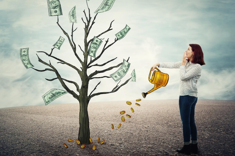 watering the money tree with legit passive income ideas