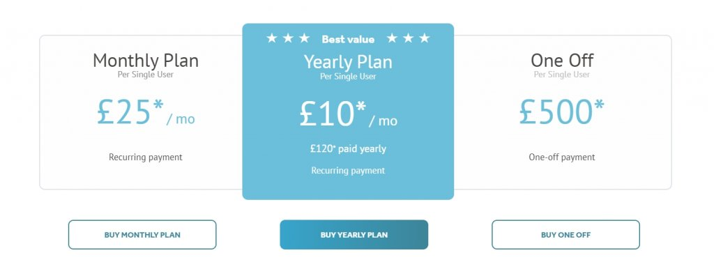 videoscribe pricing options