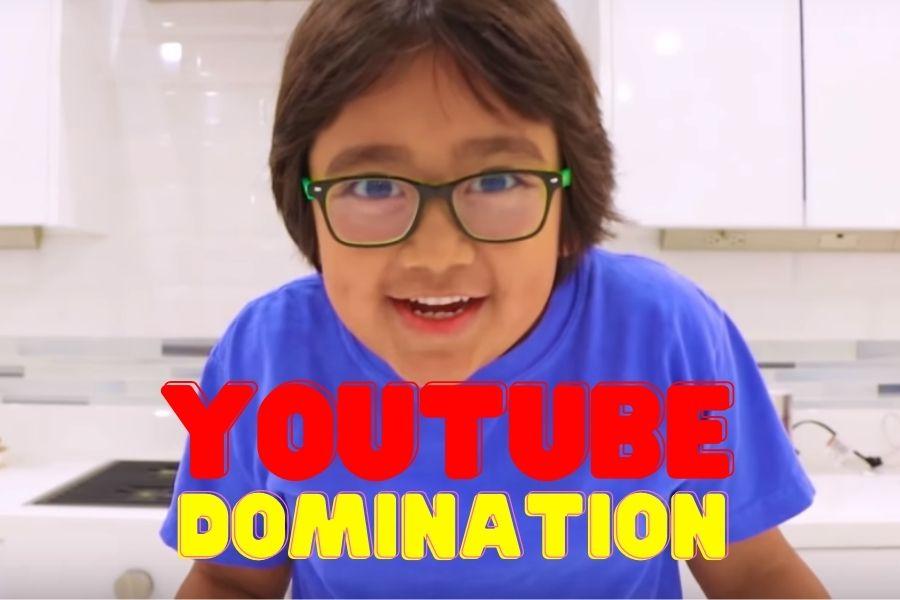 ryan kaji the highest paid youtuber