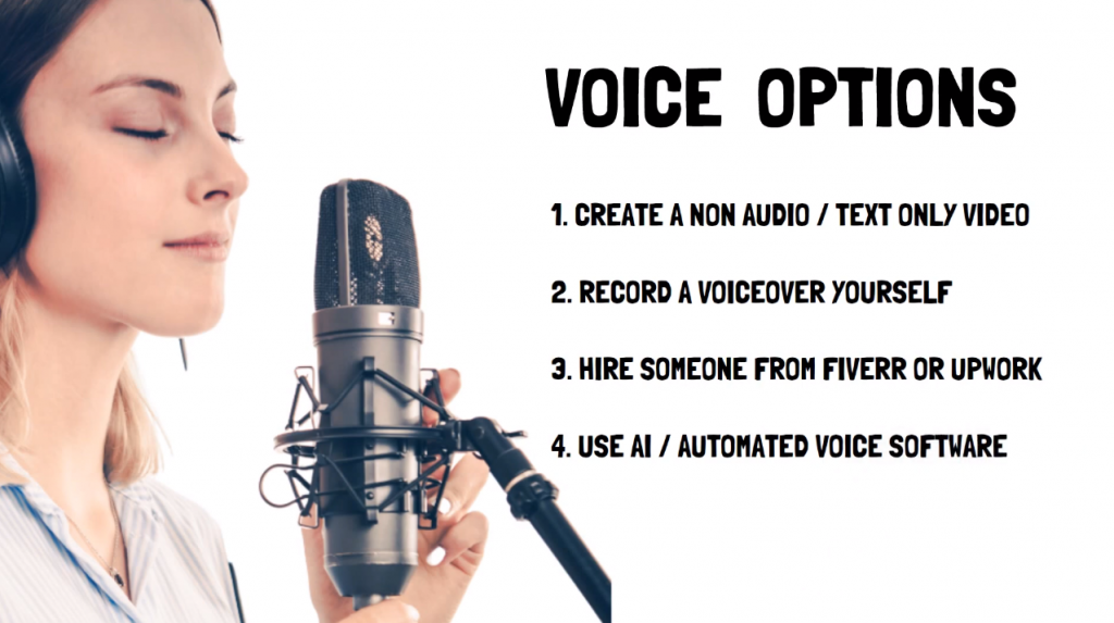 voiceover options for youtube channel