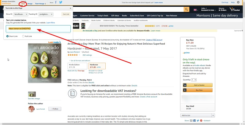 amazon associates for dummies