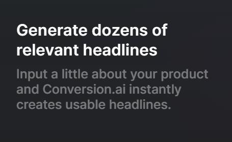 conversion ai features3