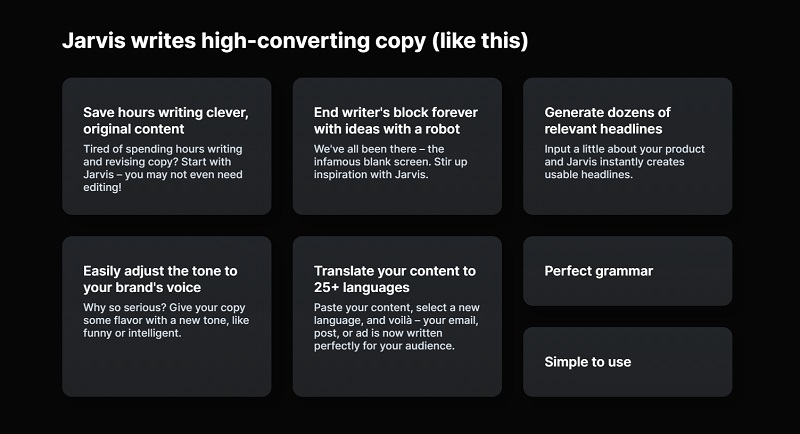 ai copywriting using jarvis ai