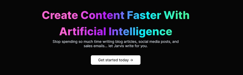 create content faster using jarvis ai